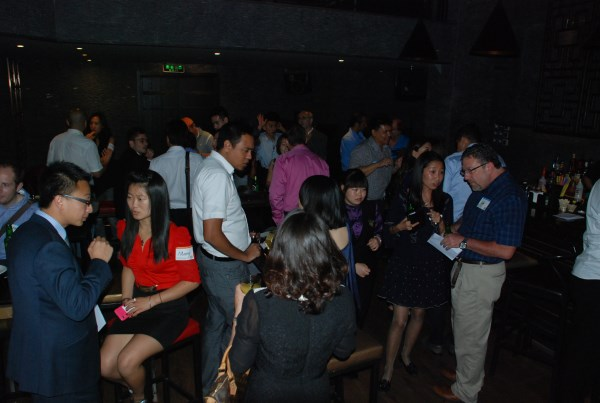 An great night at Suzie Wong on September 3