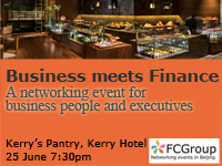 June 25: Business meets Finance – networking event