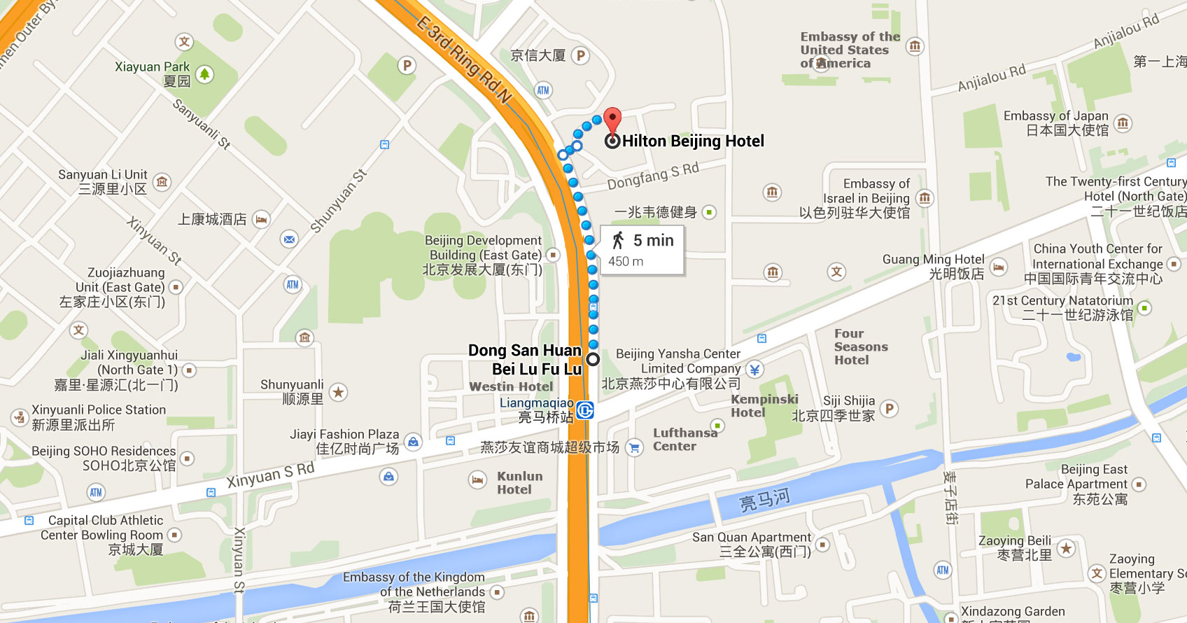 1 Dong Fang Road, North Dongsanhuan Road, Chaoyang District, Beijing